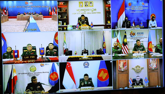ASEAN Military Operations Meeting held online - Defence Review Asia